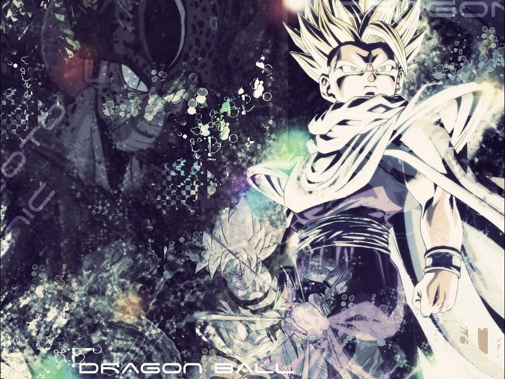 Goku and Gohan Wallpaper - WallpaperSafari