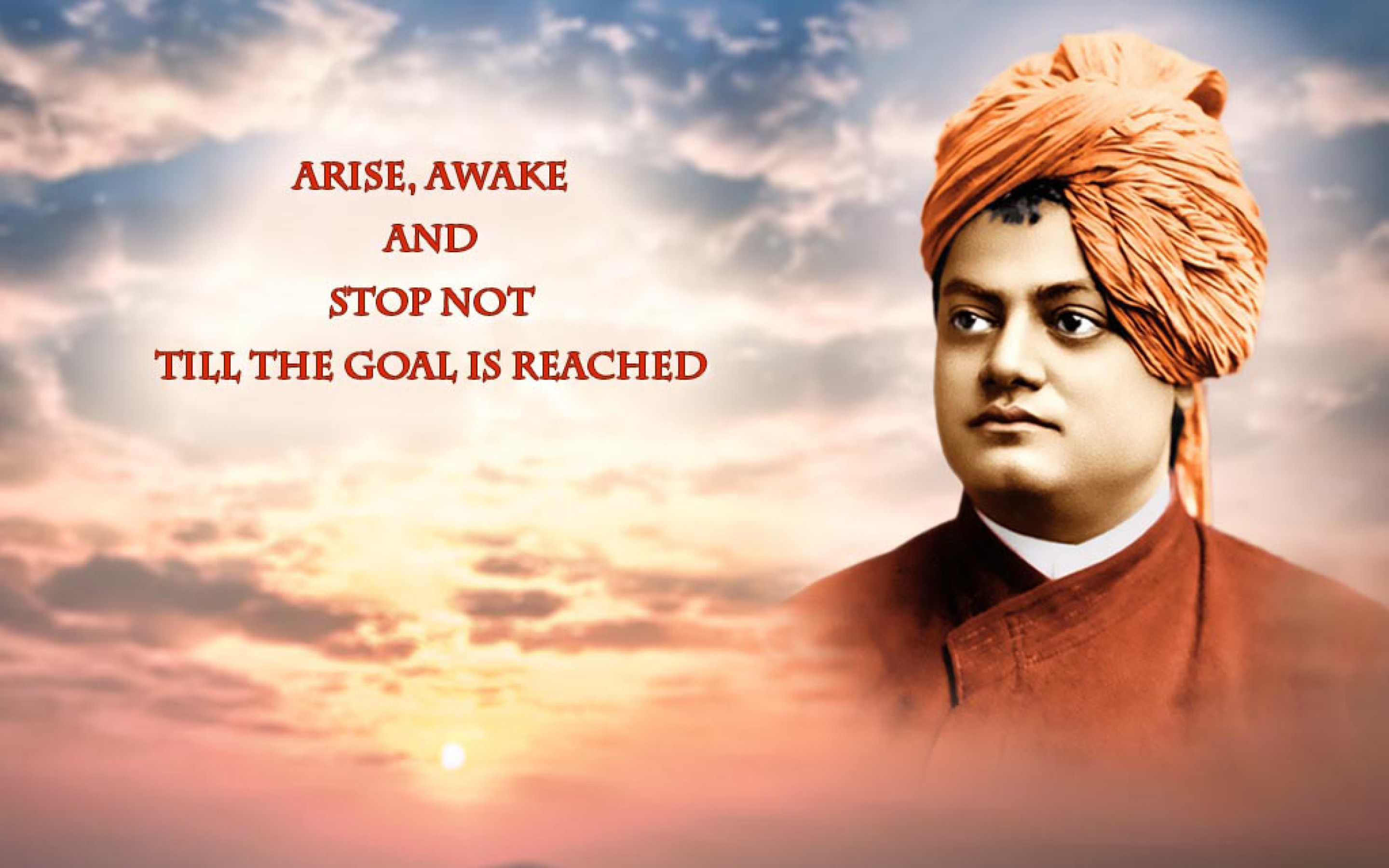 Swami Vivekananda Life Quotes Wallpaper desktop backgrounds 2880x1800