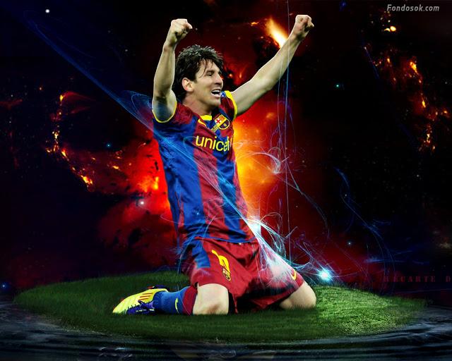 Lionel Messi 13 Jugador de Barcelona El mejor Jugador del mundo 640x512