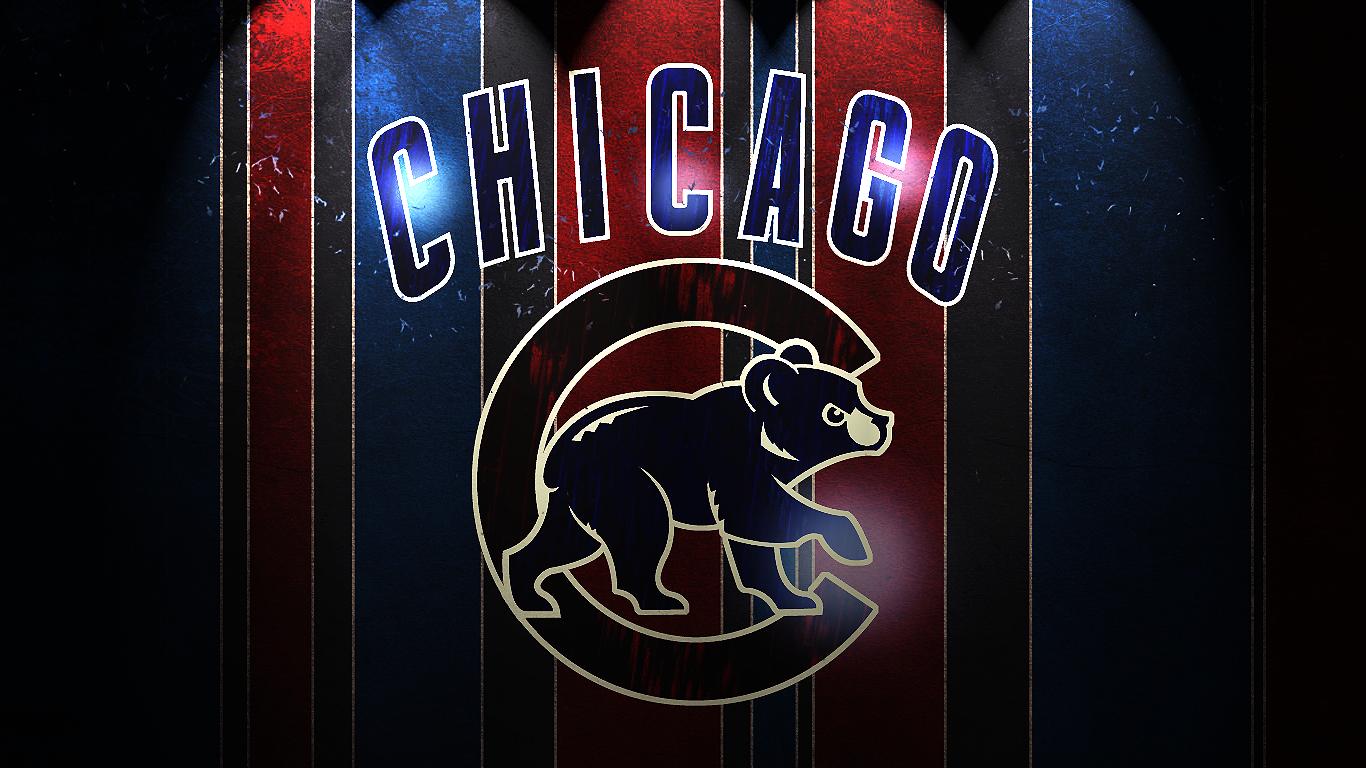 chicago cubs hd wallpaper for your desktop background or desktop 1366x768