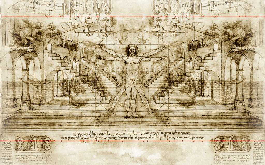 Da Vinci Wallpaper Da vinci wallpaper by kanar 1024x639