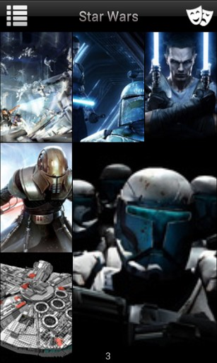 View bigger   Star Wars Game Wallpaper for Android screenshot 307x512