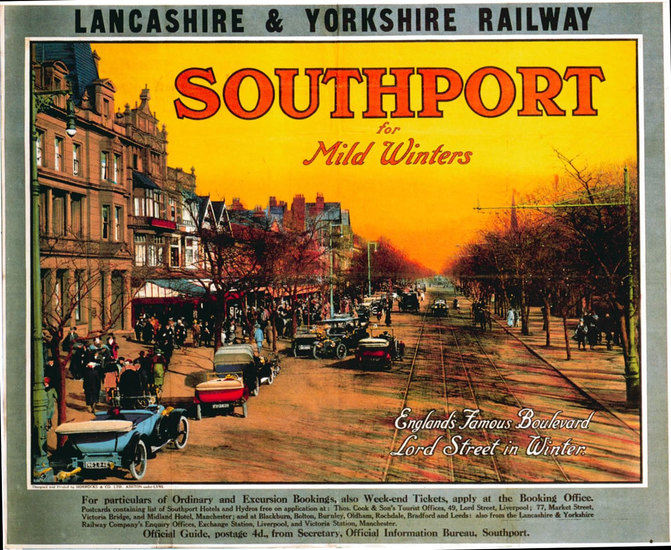 Southport   Vintage British Railways Posters Wallpaper Image 1318x1080