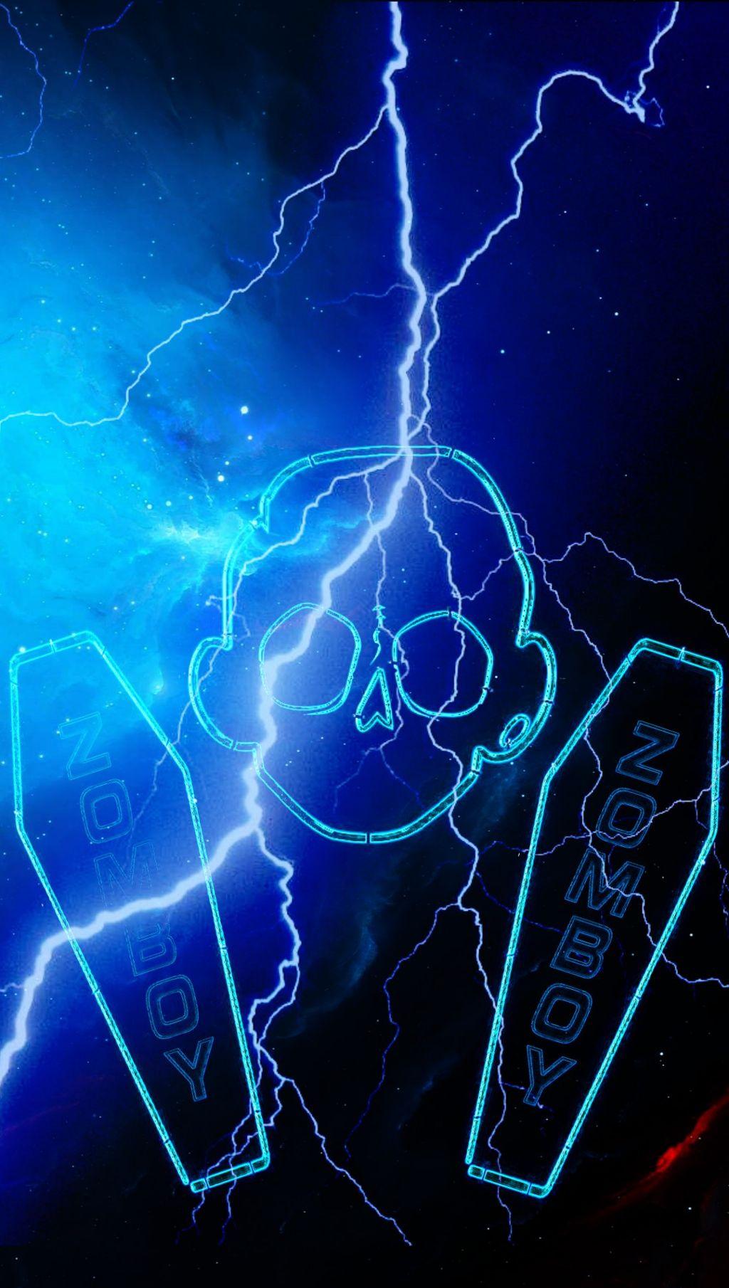zomboy wallpaper freetoedit   Lightning 1326251   HD 1024x1810