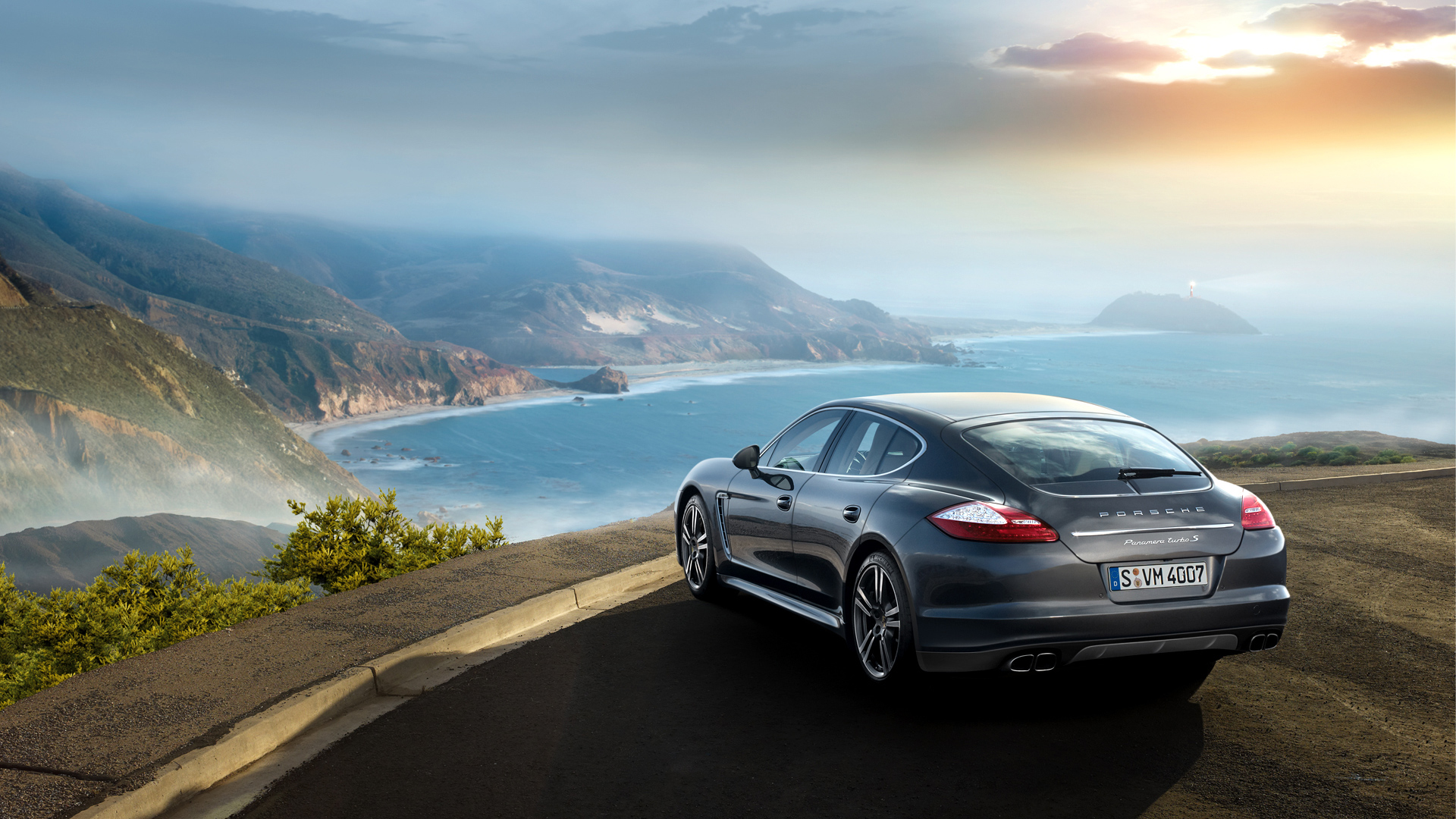 Porsche Panamera Turbo S Wallpapers HD Wallpapers 1920x1080