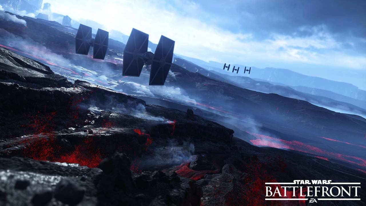 New Sullust Screenshots Released for Star Wars Battlefront 1280x720