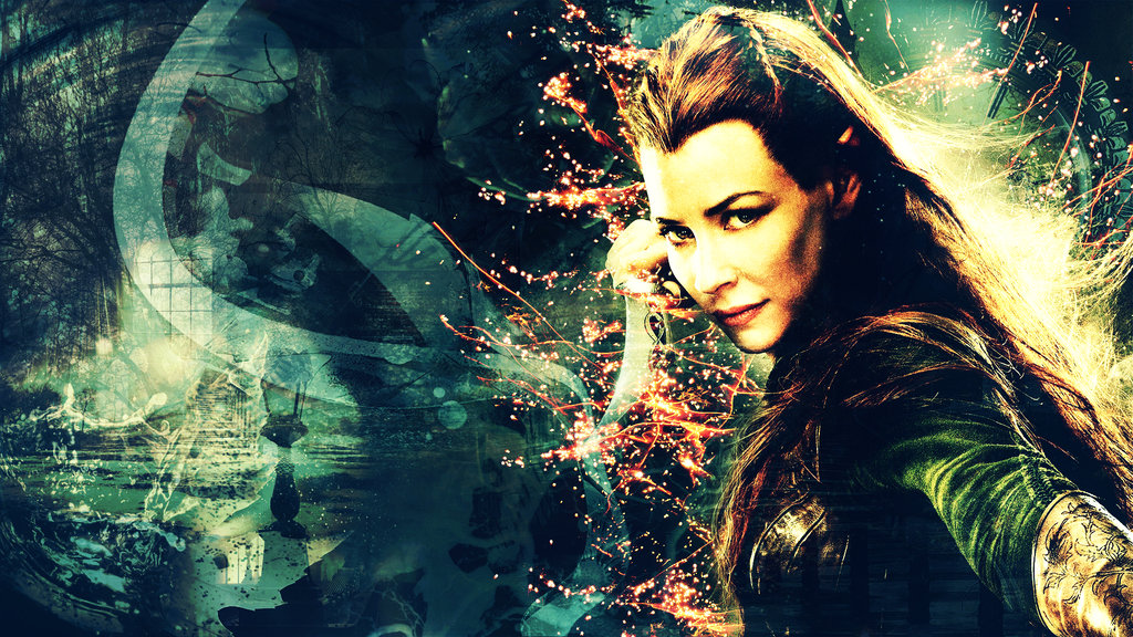 Tauriel by Super Fan Wallpapers 1024x576