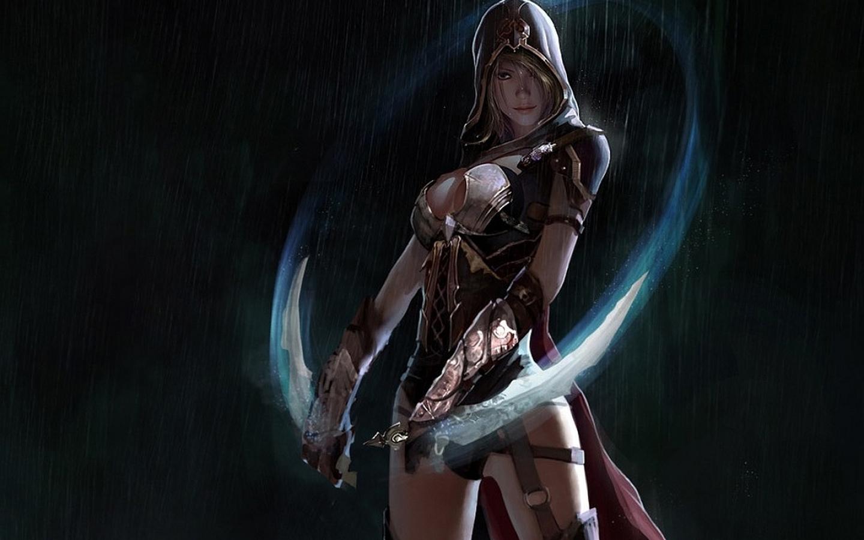 Female Assassin wallpaper   ForWallpapercom 1440x900