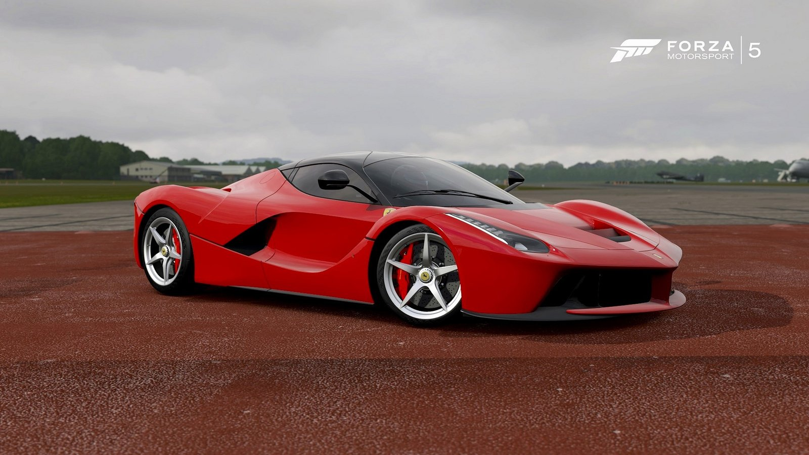 laferrari forza motorsport 5 cars videogames wallpaper background 1600x900
