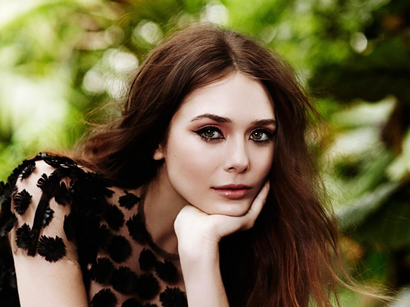 Elizabeth Olsen Cute HD desktop wallpaper Widescreen 1400x1050