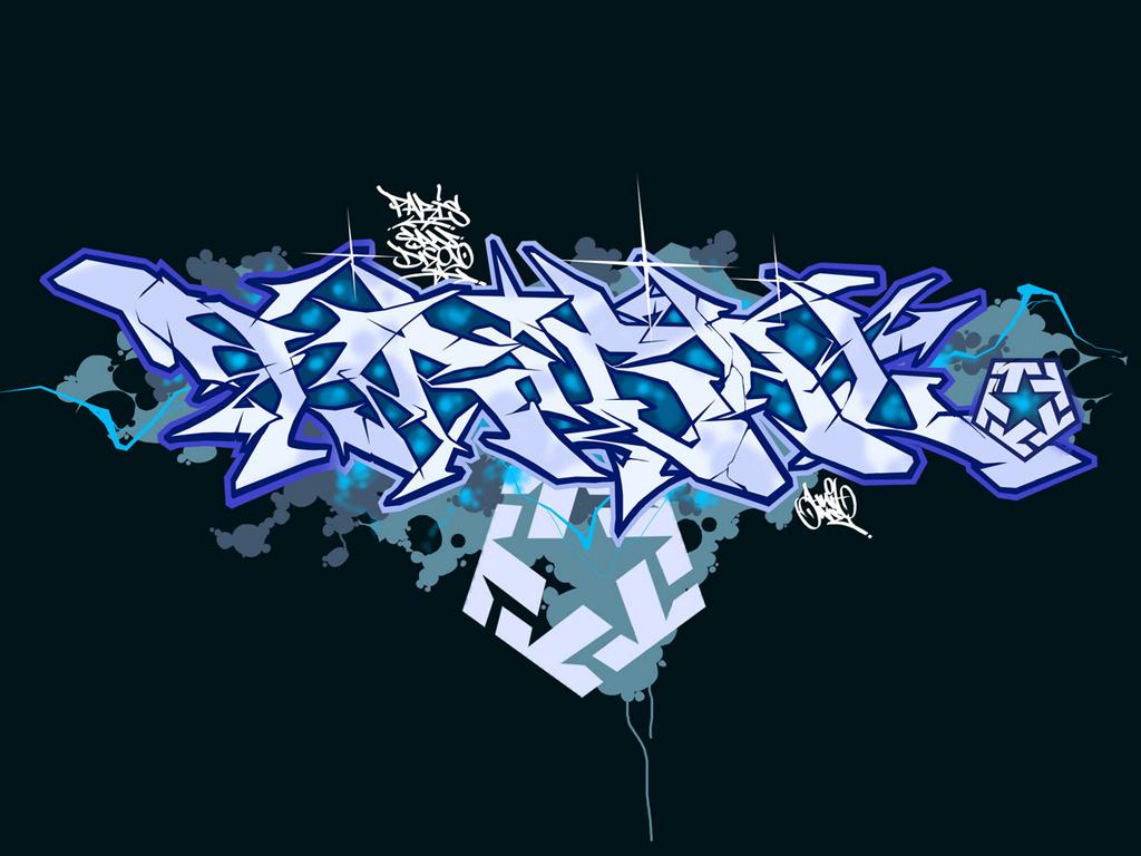 graffiti wallpaper by sek0ne 1024x768