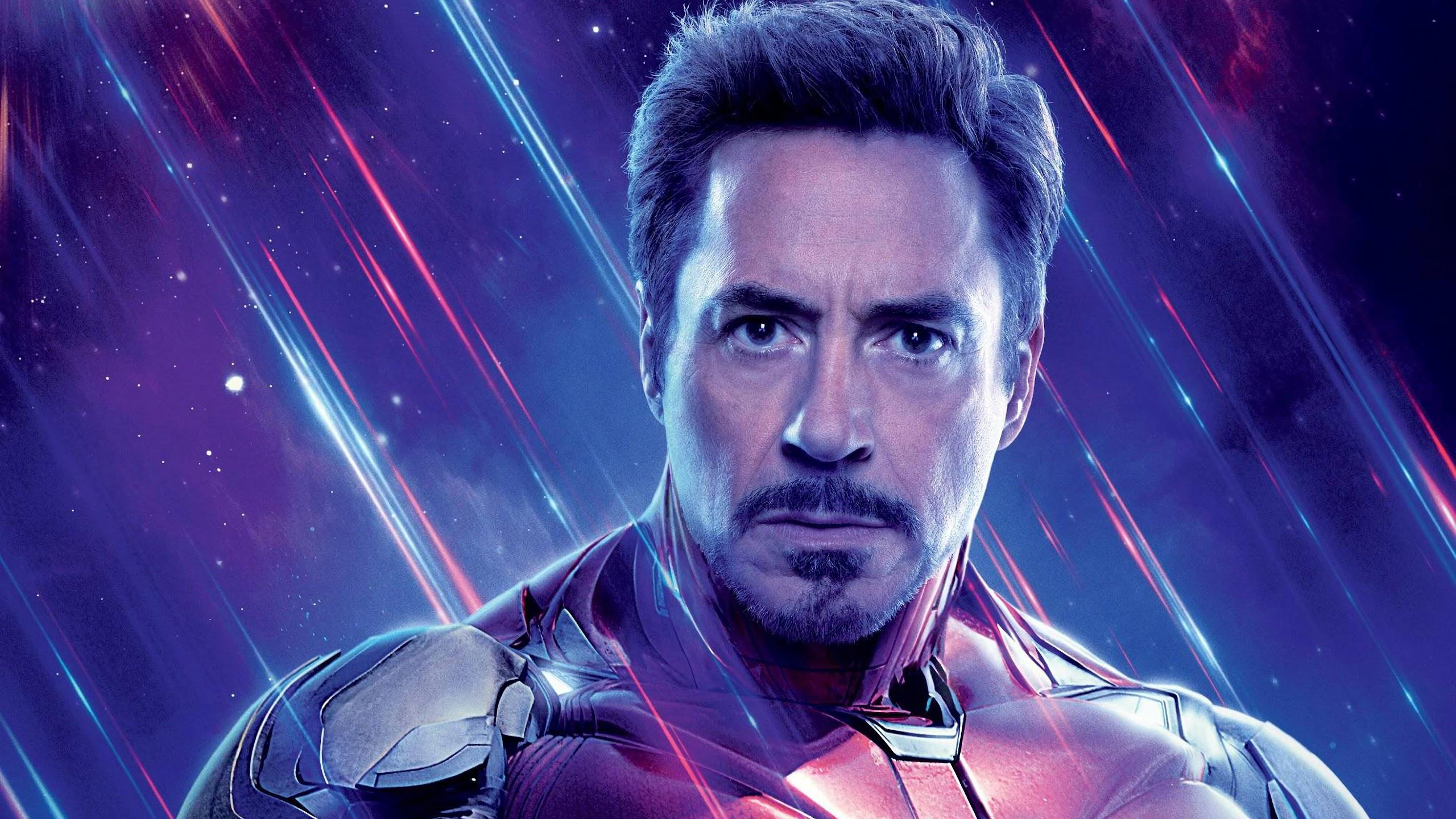 Avengers Endgame Iron Man Tony Stark 4K 82 Wallpaper 2560x1440