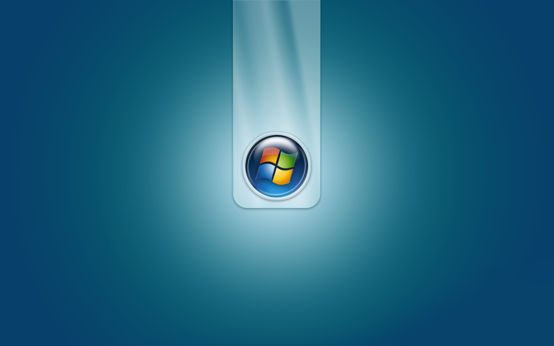 Windows 7 Blue Logo White Yellow Wallpaper Background 1920x1200 1920x1200