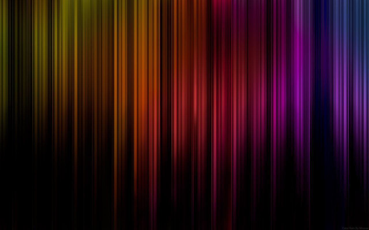 Color Rain Wallpaper and Background 1280x800 ID239029 1280x800