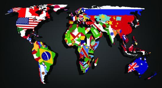 World Flags Wallpaper Wallpapersafari
