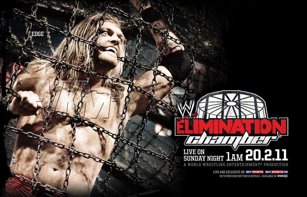 WWE Elimination Chamber 2011 Poster Unleashed WWEWWE 1200x770