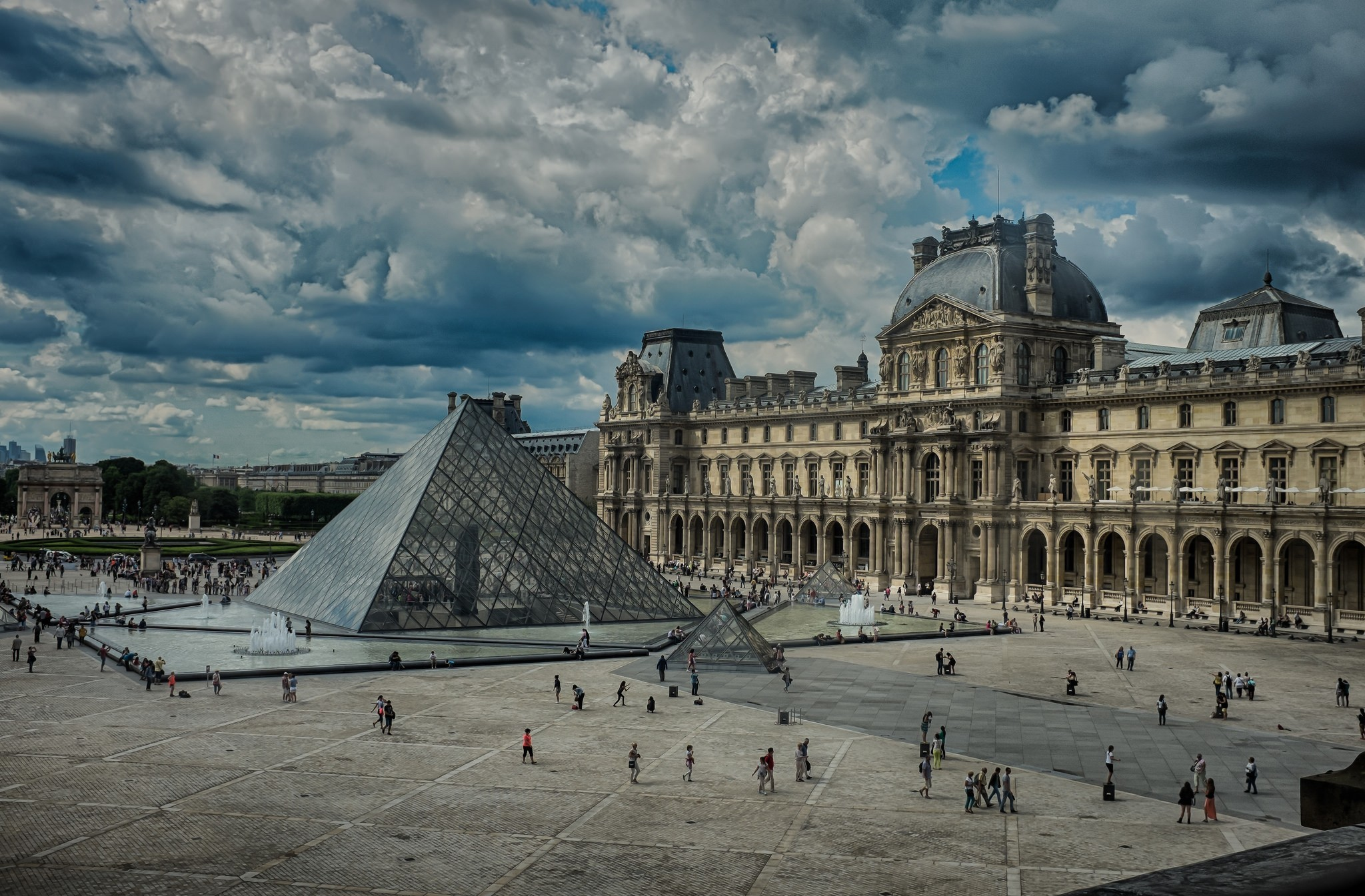 17 The Louvre HD Wallpapers Background Images 2048x1345