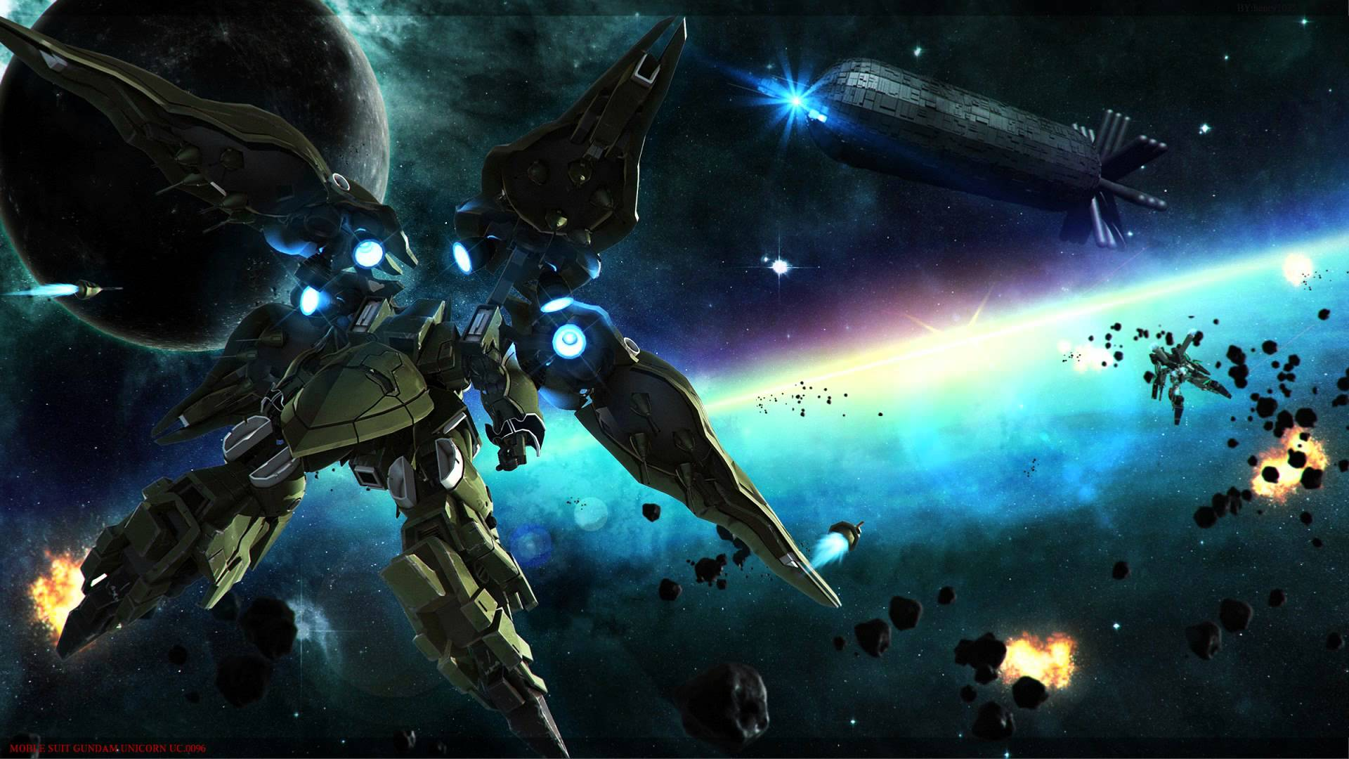 REC Mix   Gundam Unicorn OST 2   15 High Quality 1080p HD 1920x1080