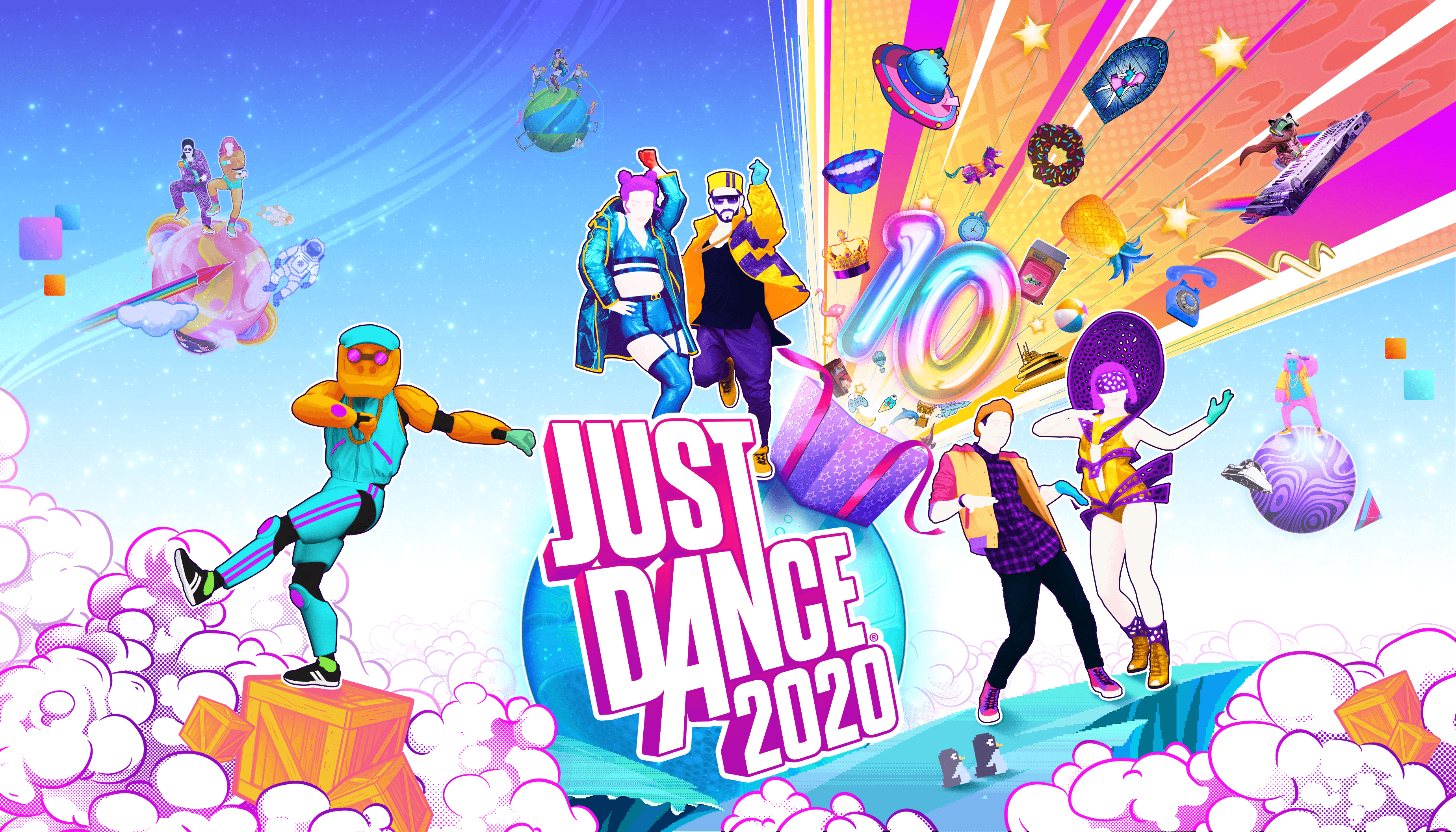 Just Dance 2020 Wallpapers   Top Just Dance 2020 Backgrounds 3696x2112