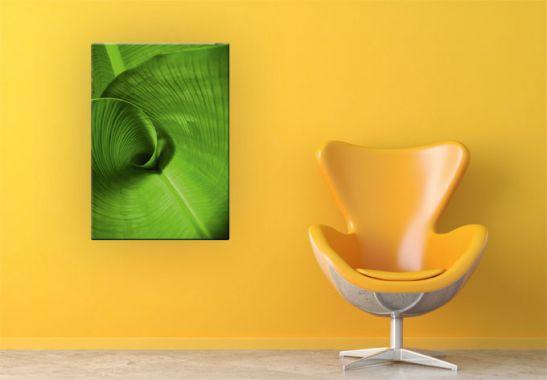 Glass Art   Banana Leaf Glass art 547x380