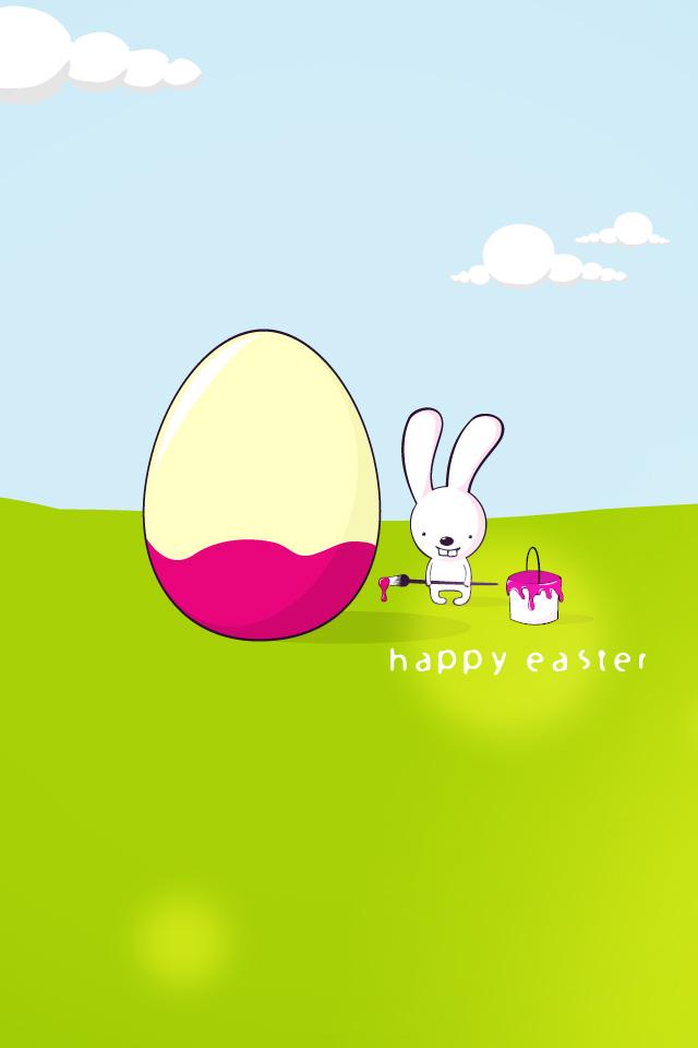 Easter Wallpaper by PimpYourScreen 640x960