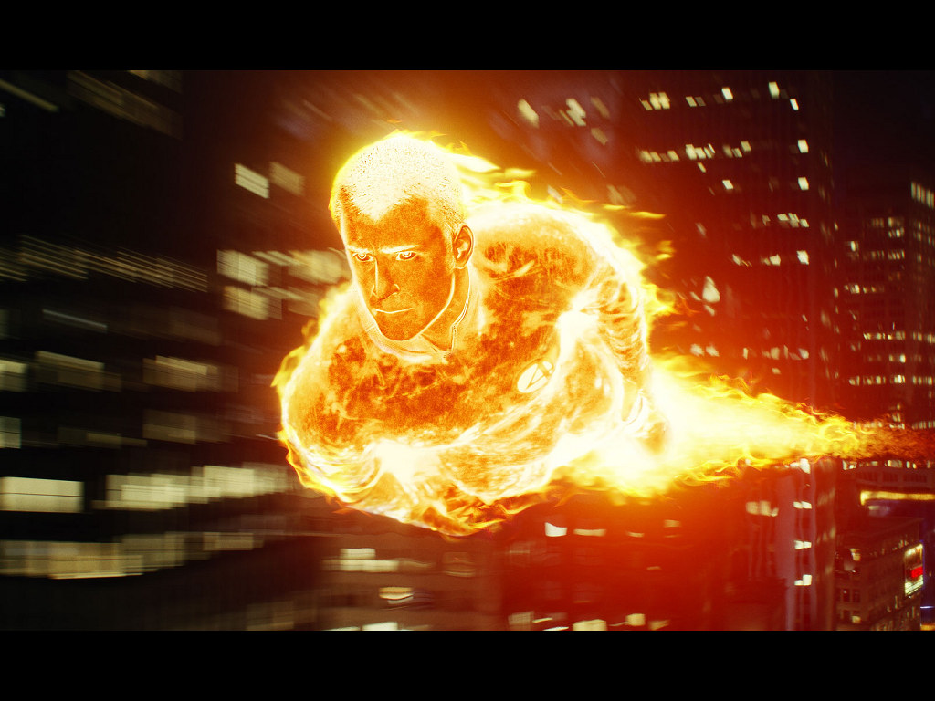30 Awesome Human Torch Artwork Collection 1024x768