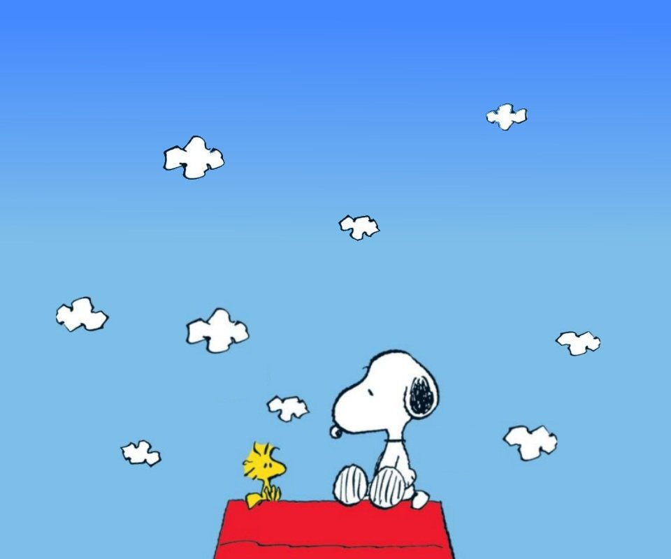 Snoopy Background Wallpapers WIN10 THEMES 960x800