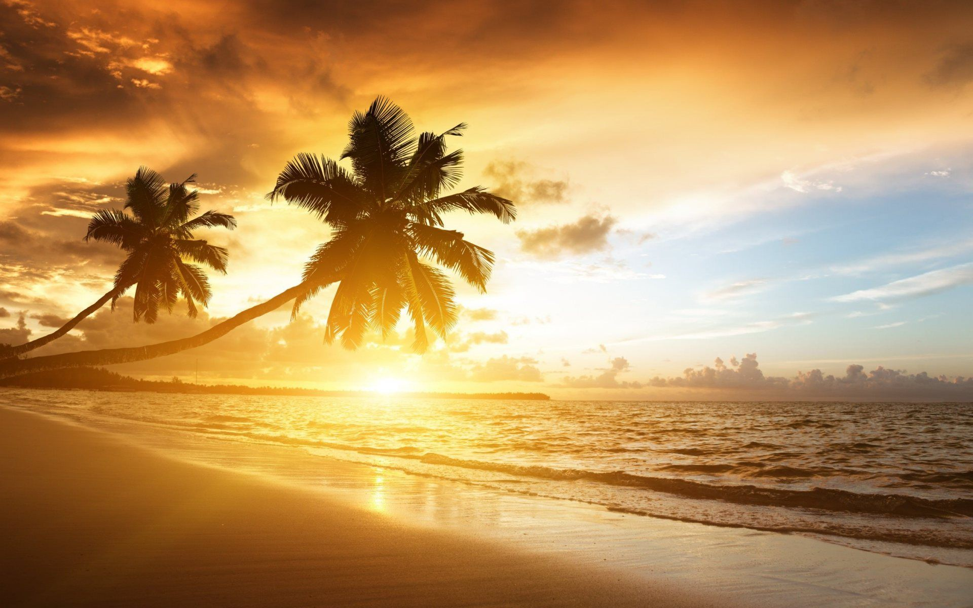 beach sunset Sunsets Sunset wallpaper Beach wallpaper 1920x1200