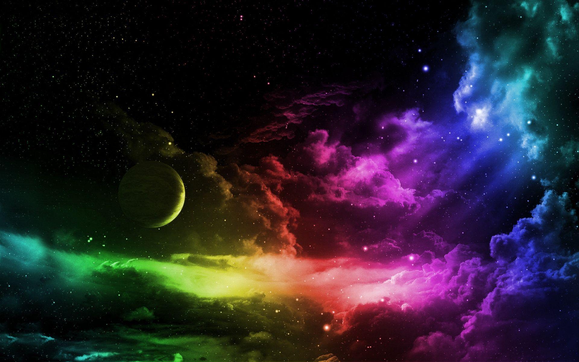 Trippy Space Wallpaper - WallpaperSafari