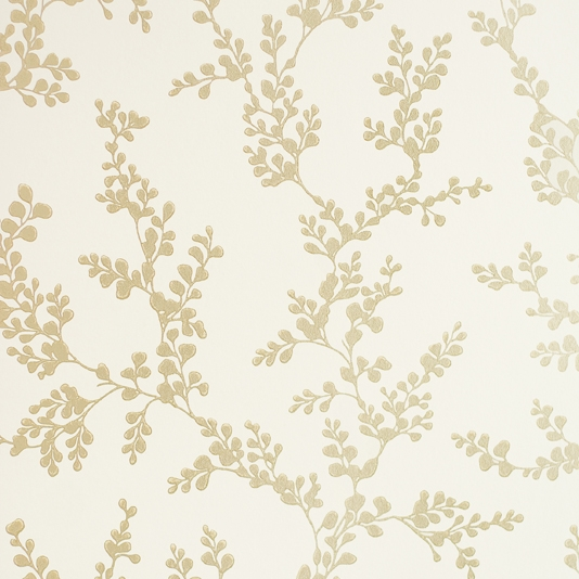 Shadow Fern Wallpaper Ivory GPBaker Crayford Wallpaper collection 534x534