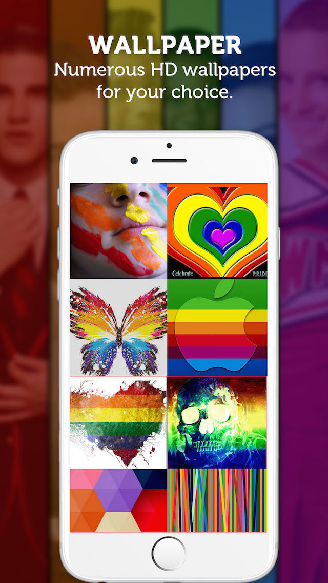 App Shopper Gay Pride Wallpapers Celebrating Bisexuals Gays 640x1136