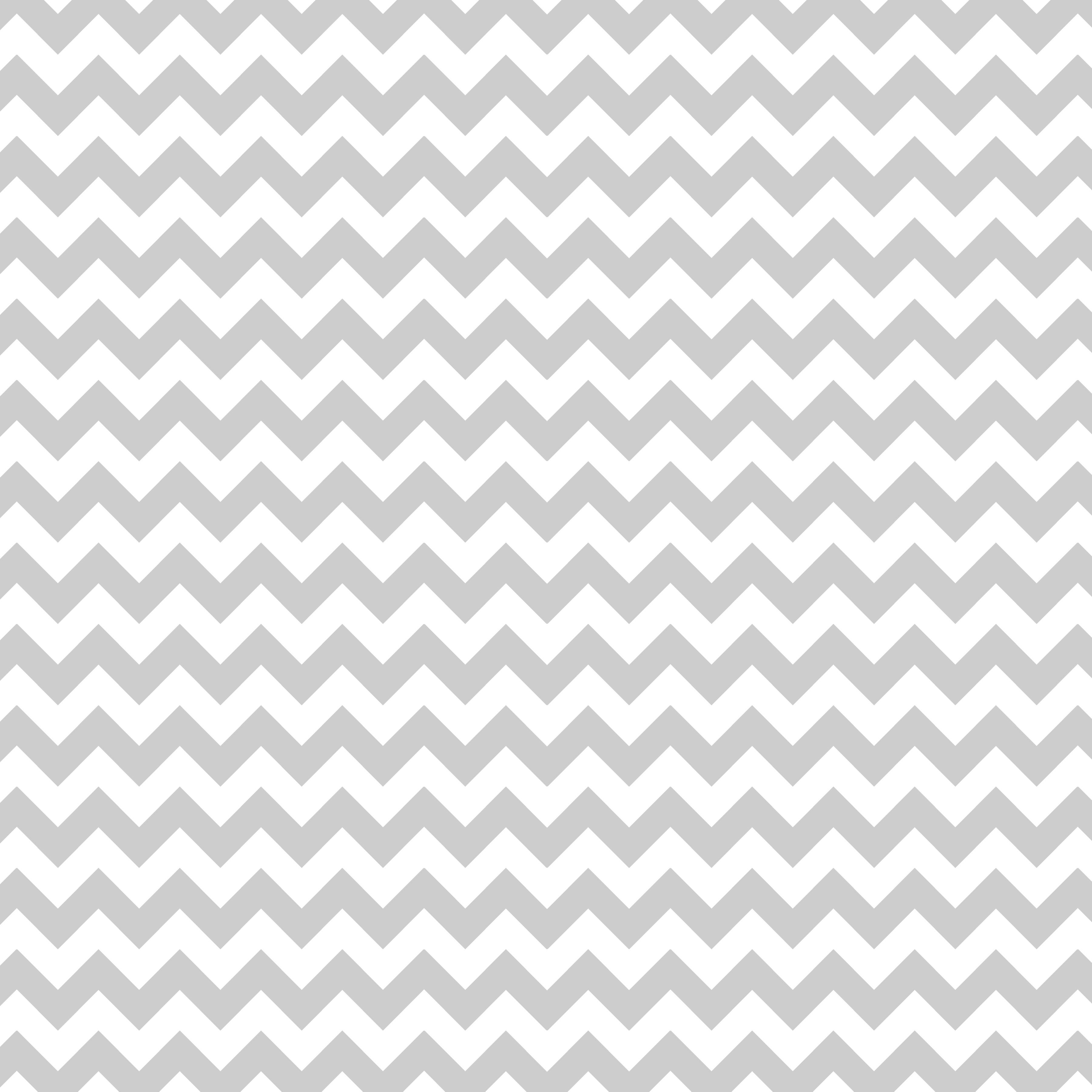 Grey and White Chevron 3600x3600