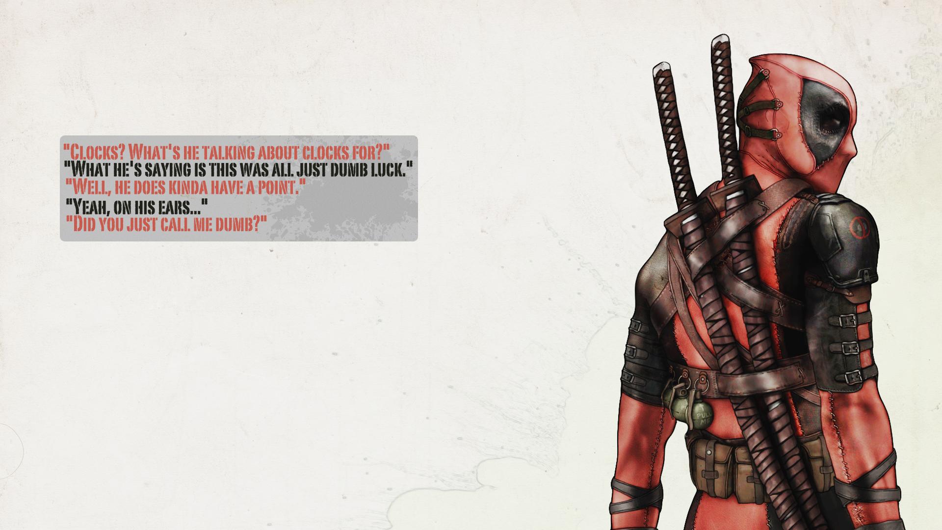 Deadpool Wallpaper HD 1080p
