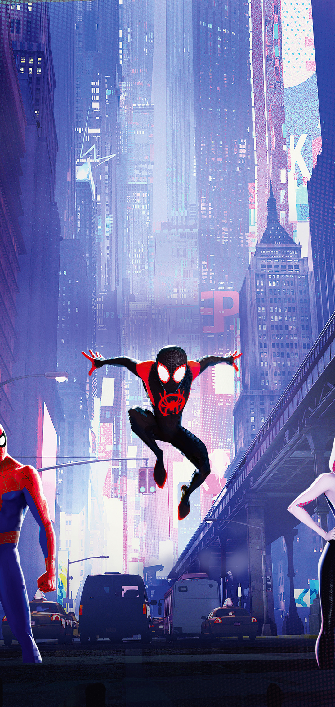 1080x2280 Spiderman Into The Spiderverse 15k Wallpaper 1080x2280 1080x2280
