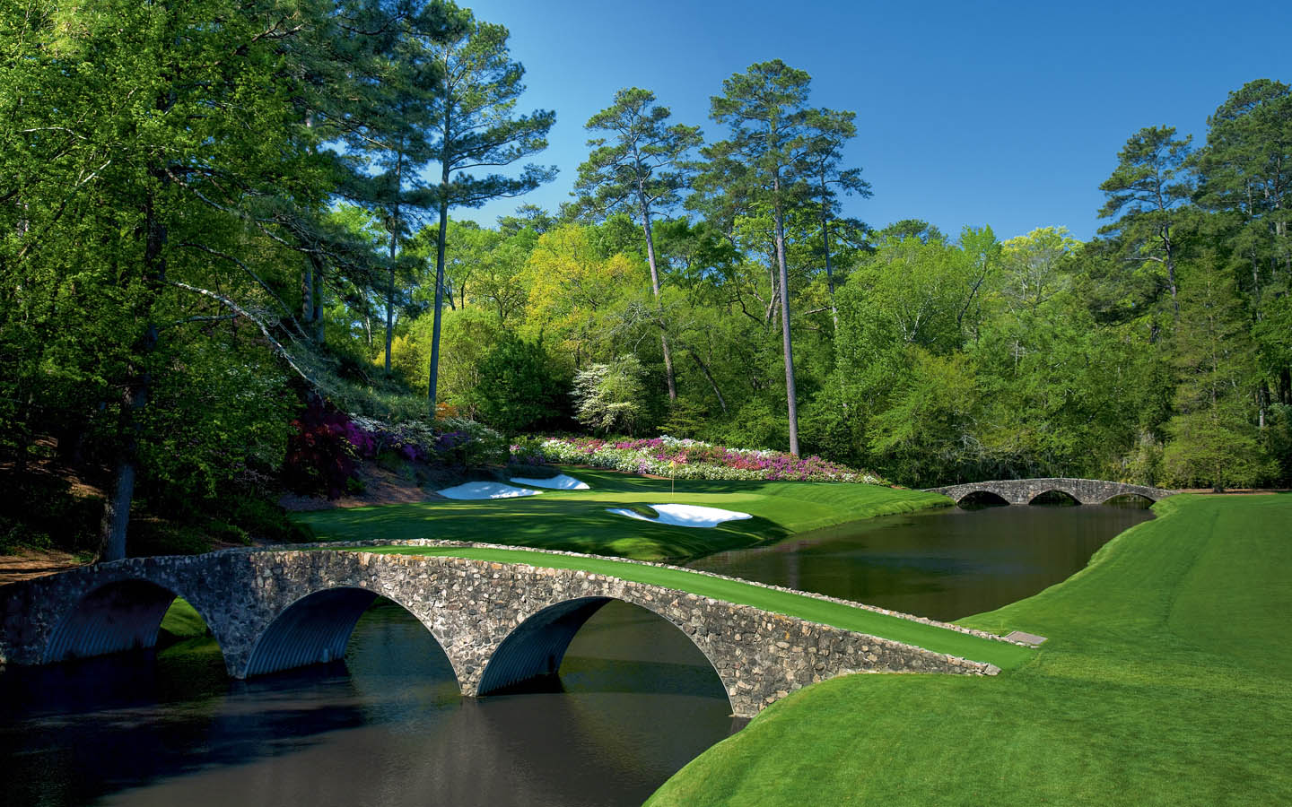 The Augusta National Golf Course Wallpapers HD Masters 2015 1440x900