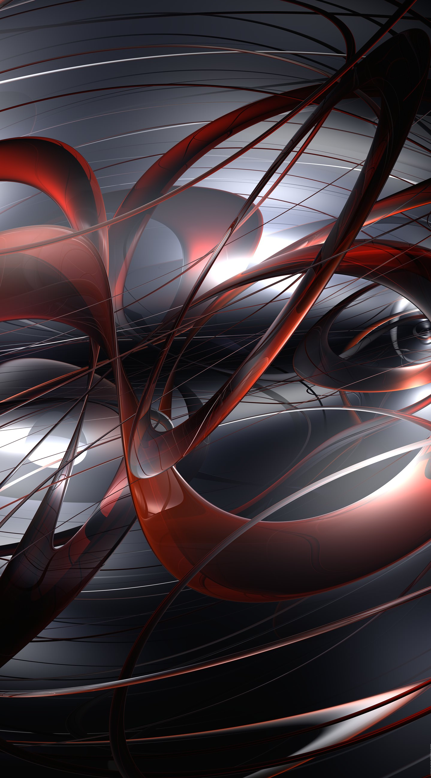 Free Pattern Black Red 3D Cool Wallpapersc