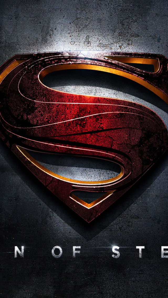 Superman Man Of Steel Wallpaper   iPhone Wallpapers 640x1136