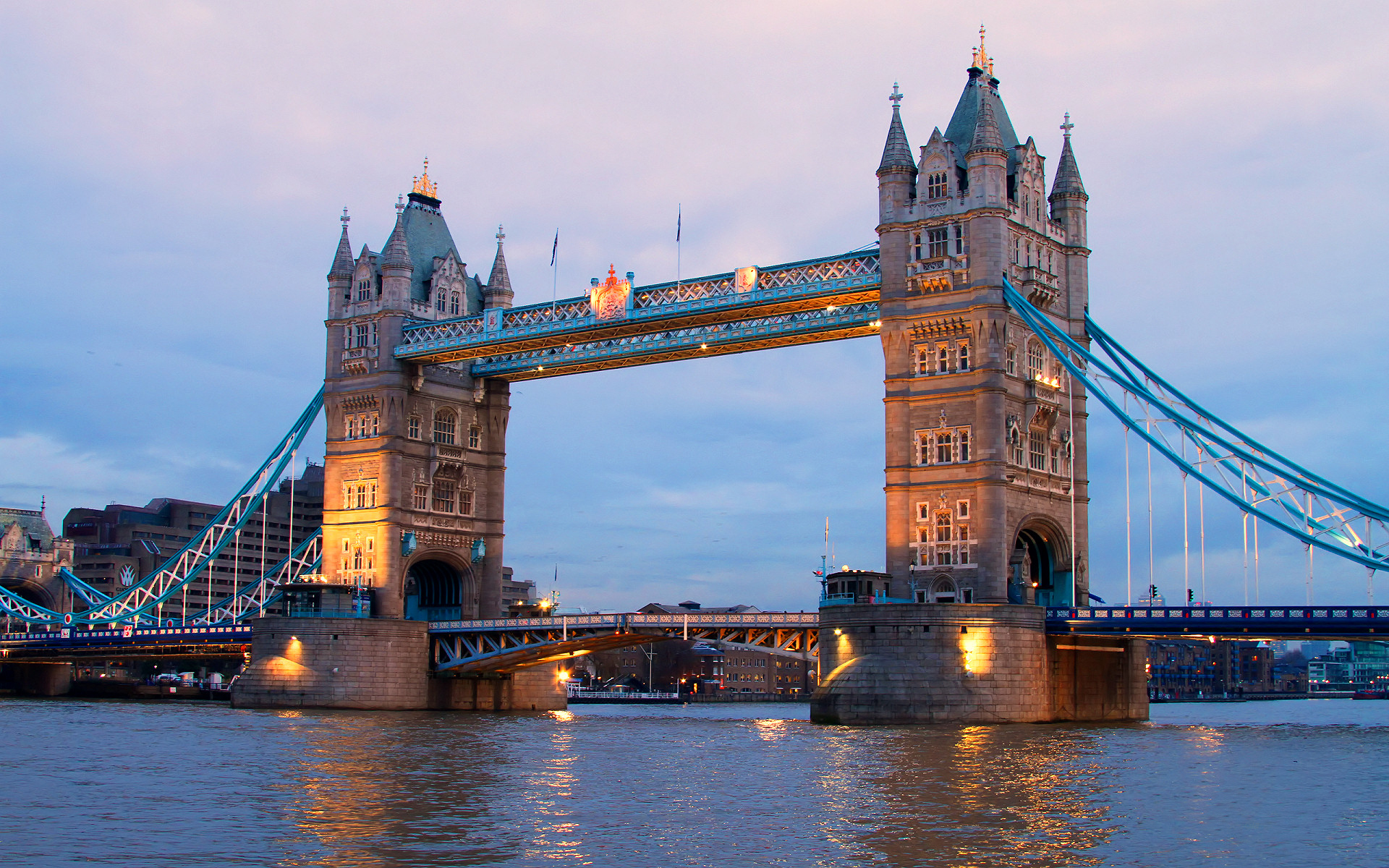 Widescreen Tower Bridge Wallpaper HD 1920x1200