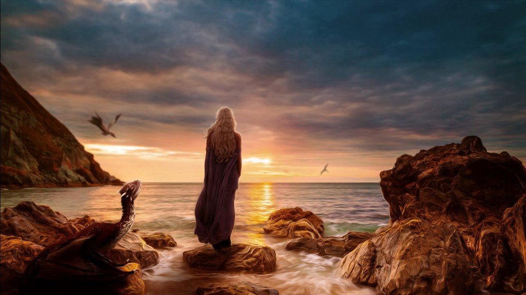 Download Game Of Thrones Daenerys Targaryen HD Wallpaper Search more 1024x575