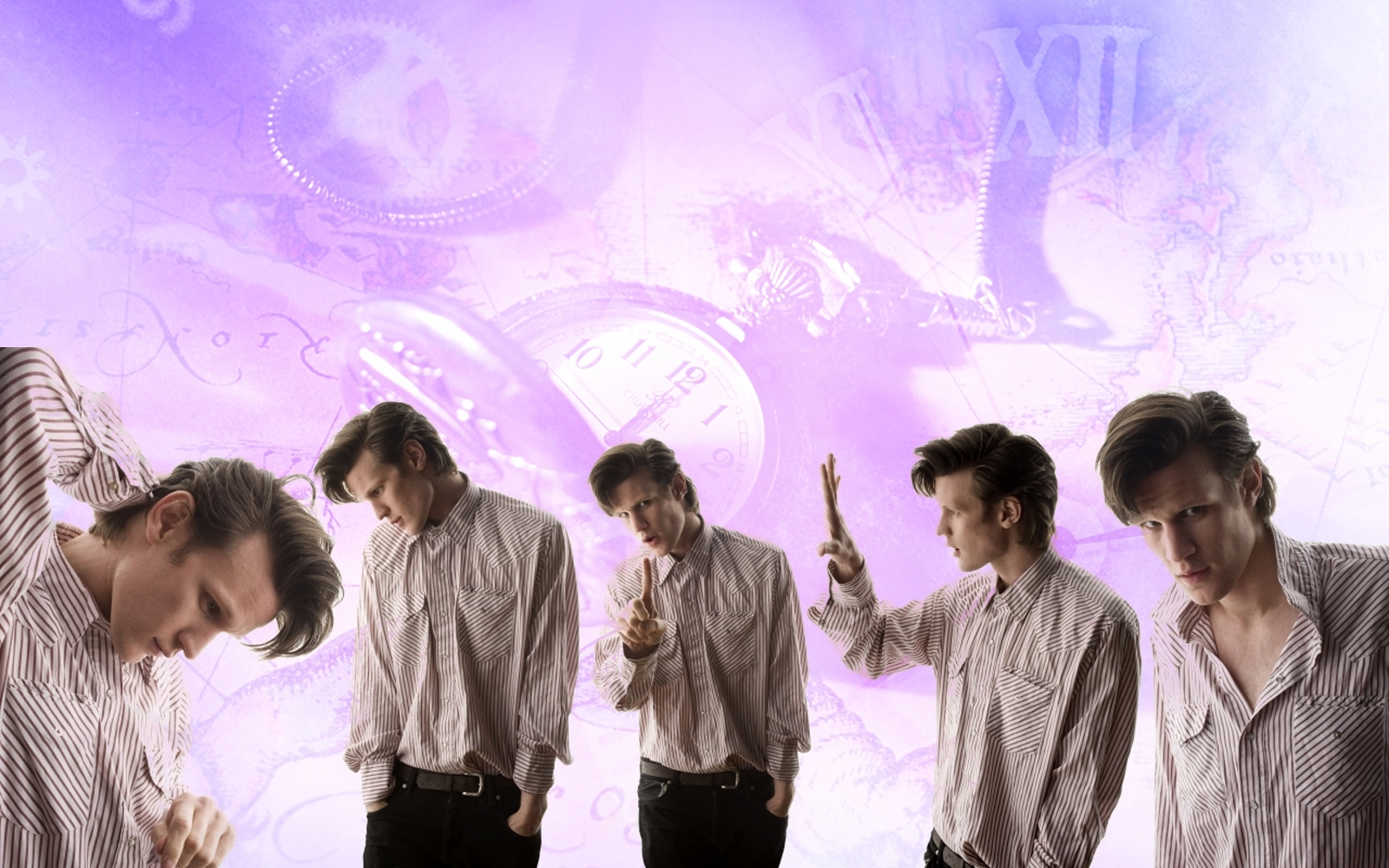Matt Smith Wallpaper   Doctor Who Wallpaper 12613348 1600x1000