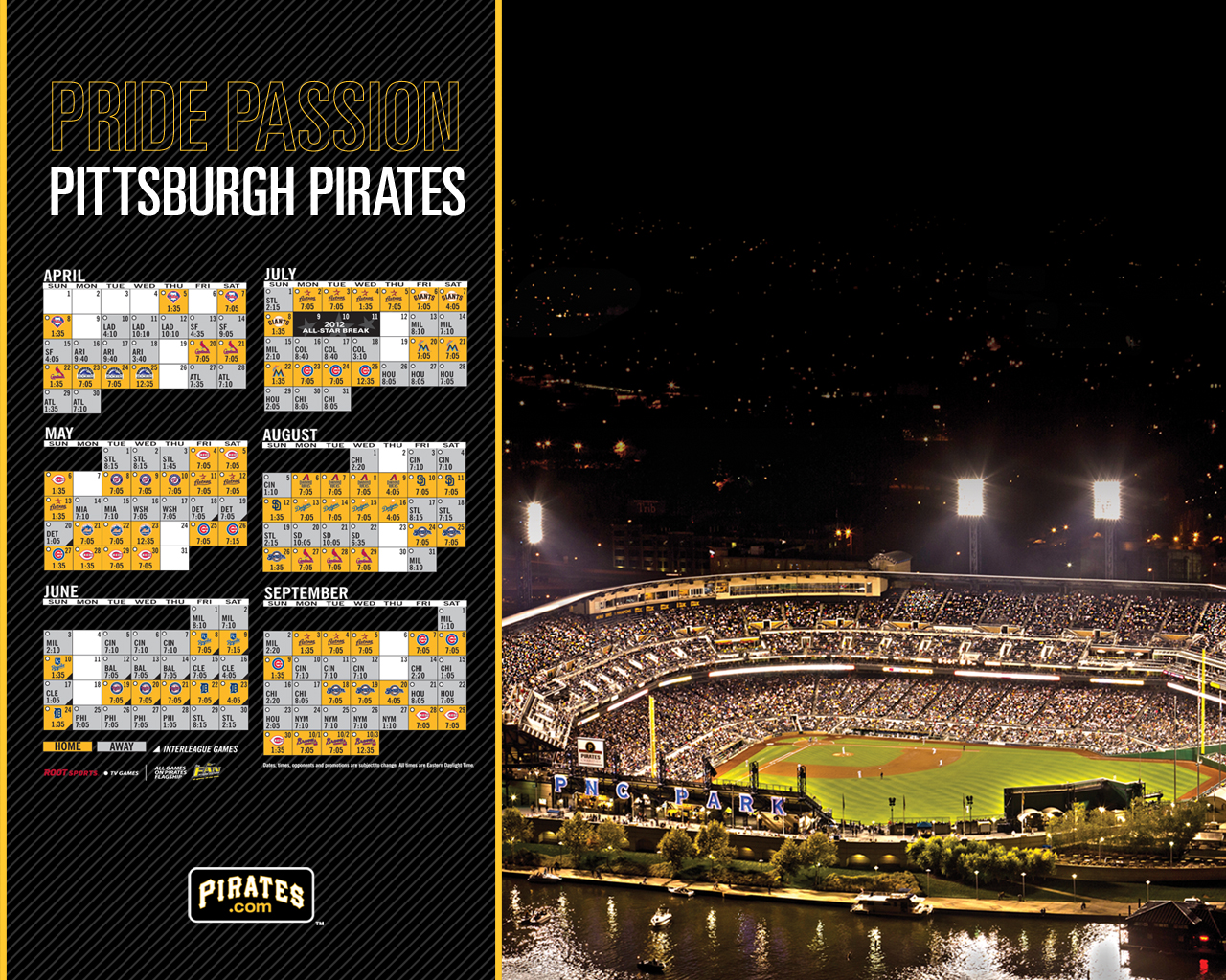 Pirates Desktop Wallpapers Pittsburgh Pirates 1280x1024