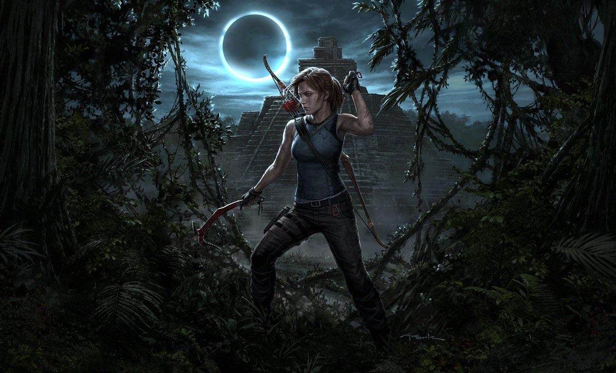 Wow this new Shadow of Tomb Raider wallpaper looks amazing Lara 1200x726
