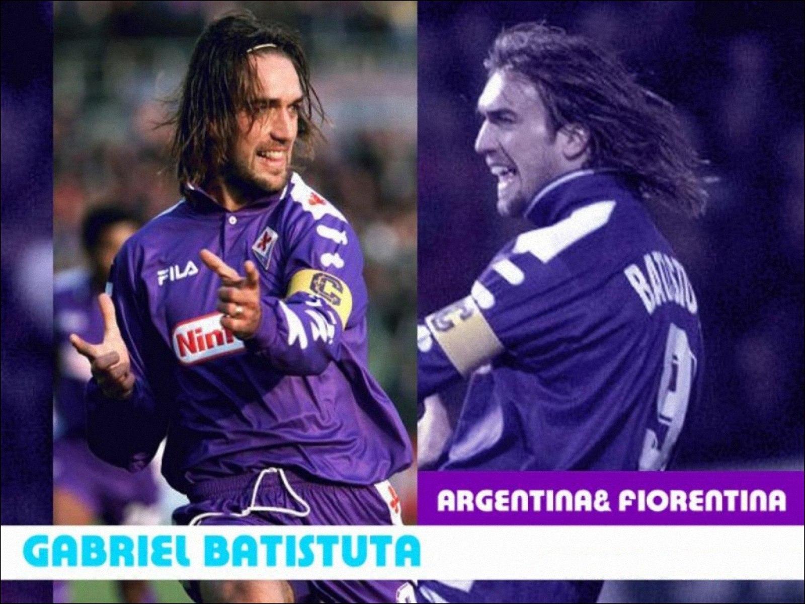 Gabriel Batistuta5 WallpapersSoccer Football Wallpapers 1600x1200