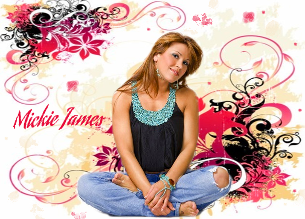 Mickie James Poster by Kayhollic 620x446