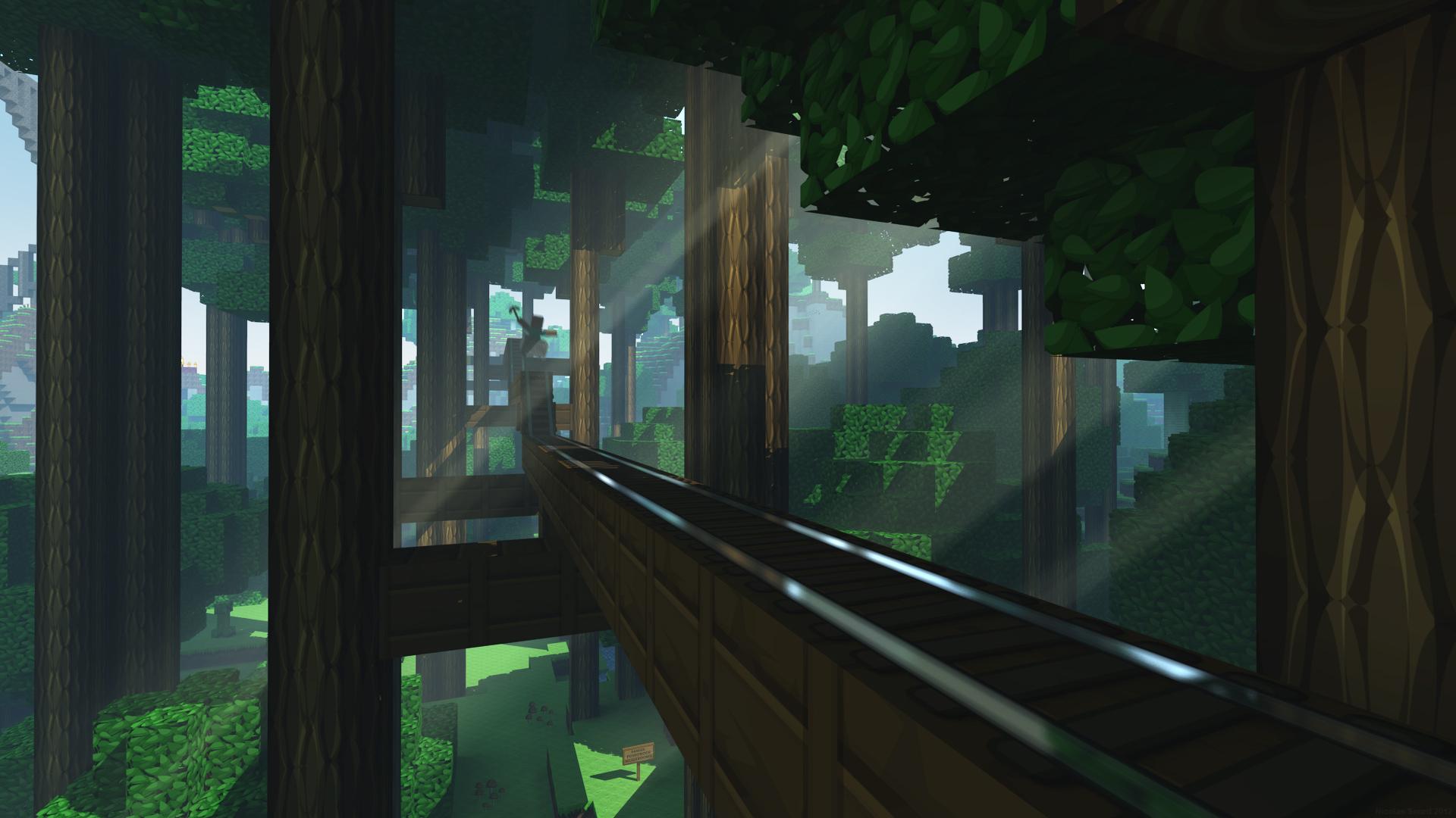 16 HD Minecraft Wallpapers 1920x1080