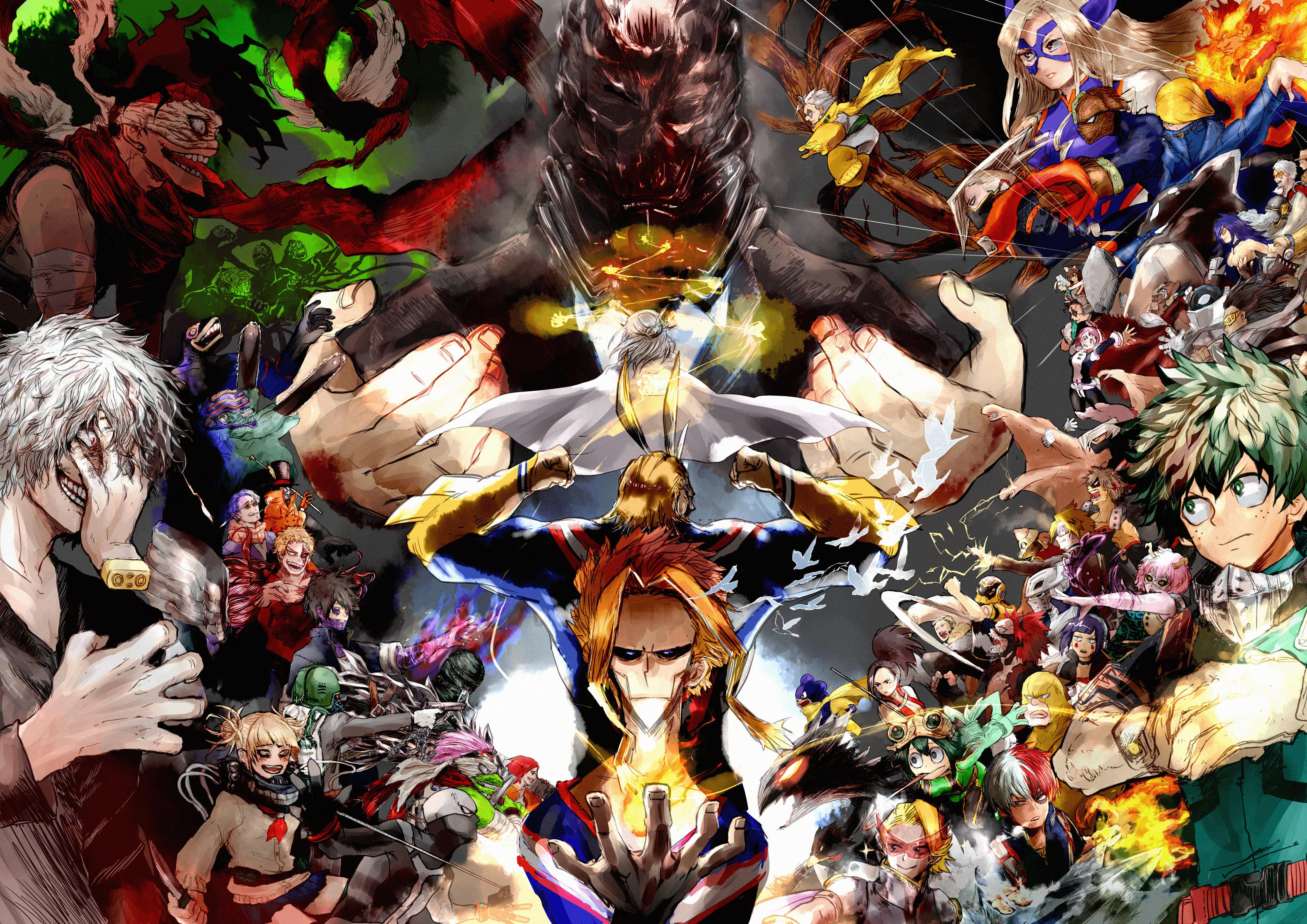 My Hero Academia 4K Wallpapers   Top My Hero Academia 4K 4092x2893
