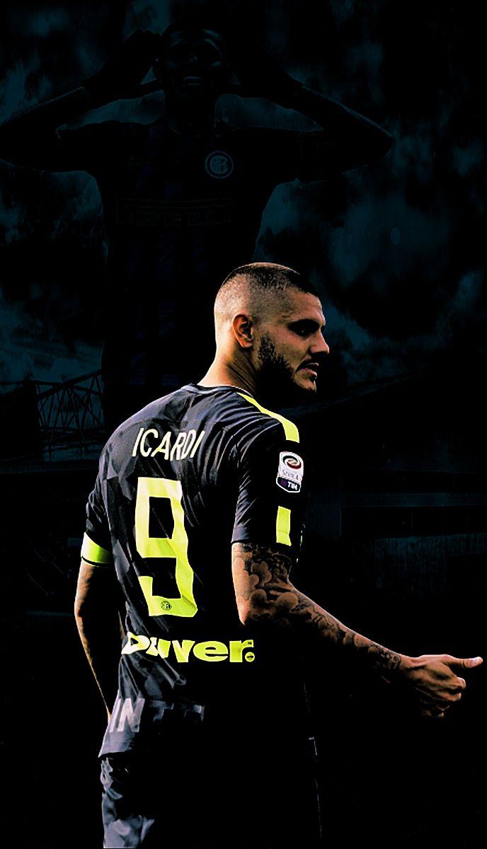 Mauro Icardi inter milan The World of Football Soccer 688x1200