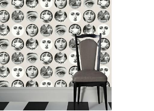 fornasetti wallpaper 512x370
