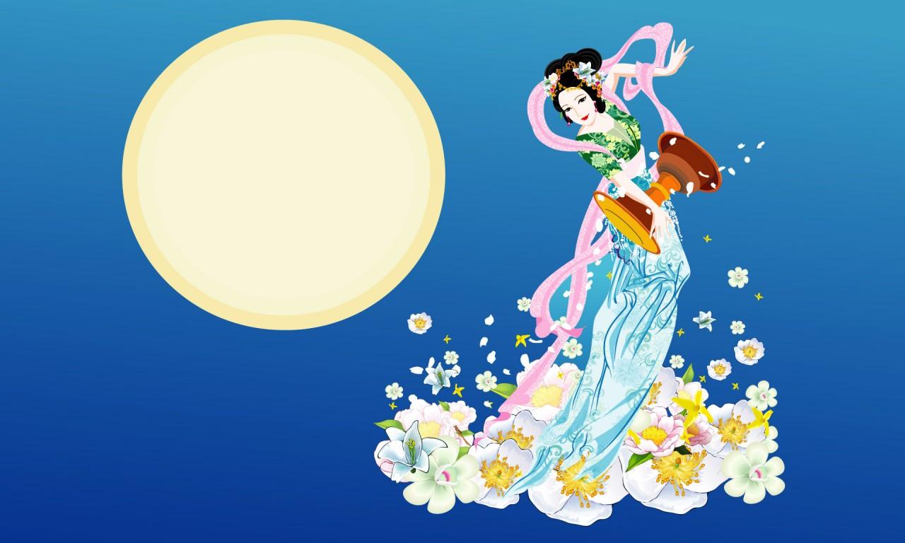 Moon Goddess   1   Wallpapers   FreezeWall 1280x768