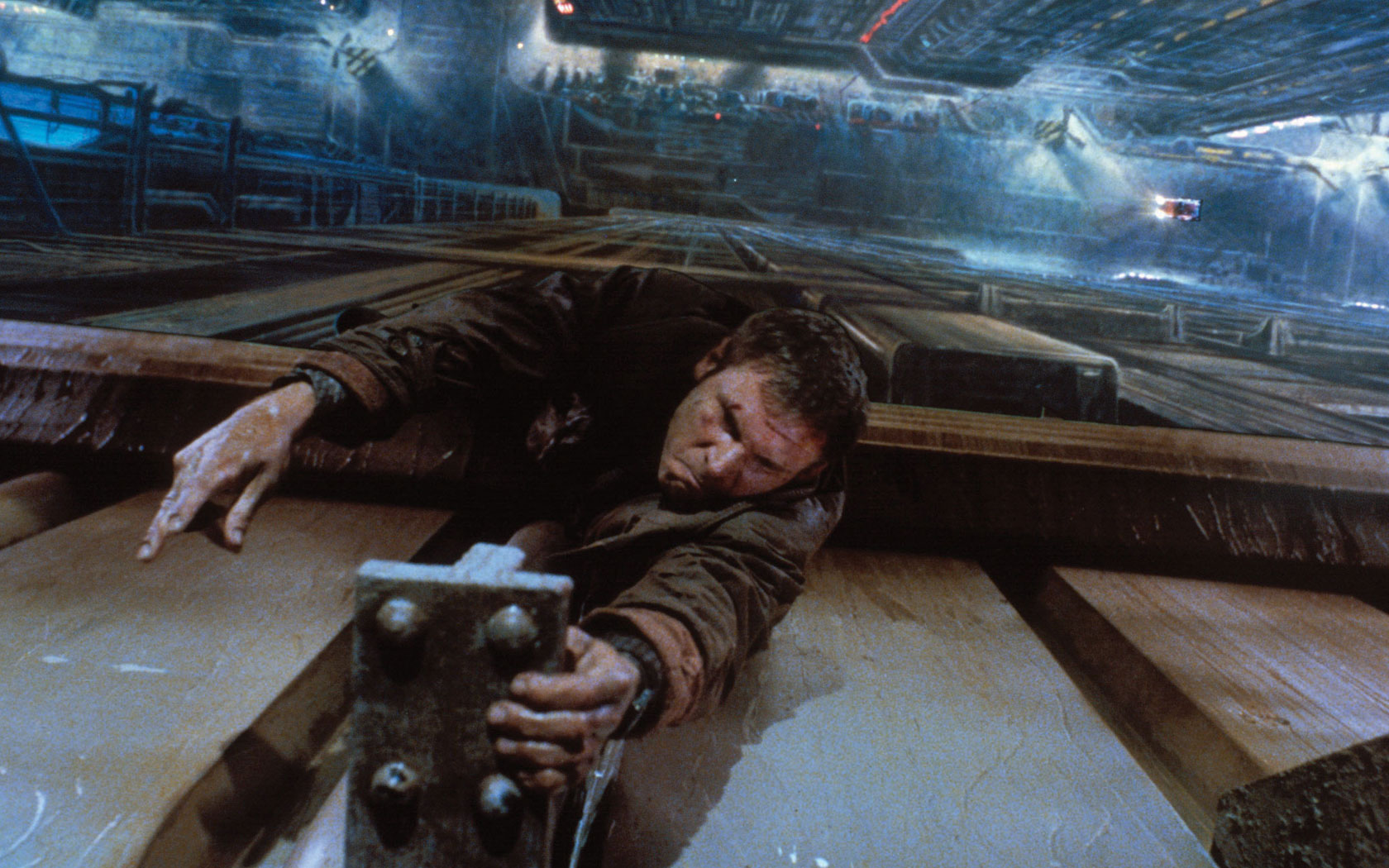 Blade Runner Wallpaper 1680x1050 Blade Runner Harrison Ford 1680x1050